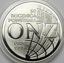 20 zł złotych 1995 ONZ 50 rocznica powstania