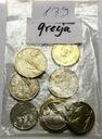 Zestaw Grecja LOT Z OBIEGU nr 139