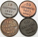 Zestaw San Marino LOT 4 x 10 Centesimi 1937 nr 134