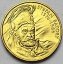 2 zł, złote 1997 Stefan Batory BARDZO ŁADNA