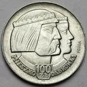 PRÓBA 100 zł 1966 Mieszko Dąbrówka Głowy SREBRO