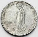 Watykan 1 Lir Lira Lire 1941 Pius XII