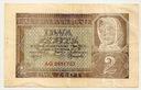 1941 2 zł, Dwa Złote, Seria AG