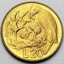 San Marino 20 Lirów 1975
