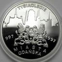 20 zł złotych 1996 Tysiąclecie Gdańska