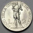 Watykan 2 Liry 1939