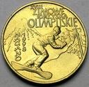 2 zł złote 1998 Nagano Zimowe Igrzyska Olimpijskie