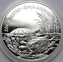 20 zł złotych 2002 Żółw Błotny