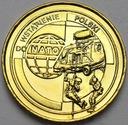 2 zł, złote 1999 Wstąpienie Polski do NATO POŁYSK