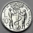 Watykan 10 Lirów 1988 Jan Paweł II