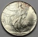 USA 1 dolar 1994 oz uncja One Silver Dollar SREBRO