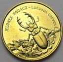 2 zł, złote 1997 Jelonek Rogacz POŁYSK