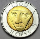 San Marino 500 Lirów 1976 HEGEL