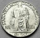 Watykan 50 Centesimo 1942