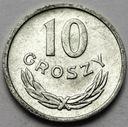 10 gr, dziesięć groszy 1949 ALUMINIUM