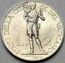 Watykan 2 Liry 1934