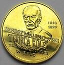 2 zł, złote 1999 Ernest Malinowski Peru