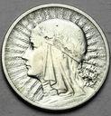 2 zł złote 1933 Głowa kobiety, babka, Polonia