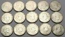 LOT 15x 100 Lirów 1988 Jan Paweł II MENNICZE nr 24