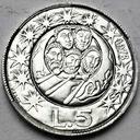 San Marino 5 Lirów 1973