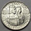 PRÓBA 100 zł 1966 Mieszko Dąbrówka Półpostacie