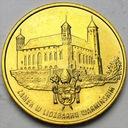 2 zł, złote 1996 Lidzbark Warmiński BARDZO ŁADNA