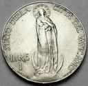 Watykan 1 Lir Lire 1931
