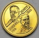 2 zł, złote 1996 Henryk Sienkiewicz BARDZO ŁADNA