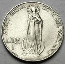 Watykan 1 Lir Lire 1932