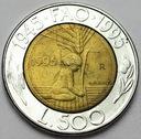 San Marino 500 Lirów 1995