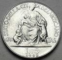 Watykan 5 Lirów 1949 Pius XII