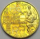 2 zł, złote 1998 Skłodowska Polon i Rad