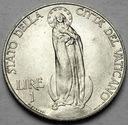 Watykan 1 Lir Lire 1936