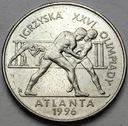 2 zł, złote 1995, Atlanta Zapasy