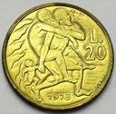 San Marino 20 Lirów 1973