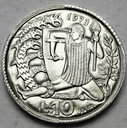 San Marino 10 Lirów 1973