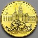 2 zł, złote 1999 Radzyń Podlaski Pałac Potockich