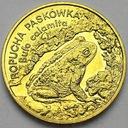 2 zł, złote 1998 Ropucha Paskówka PIĘKNA POŁYSK