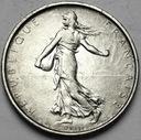 Francja 5 Franków 1964 Siewka SREBRO
