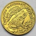 2 zł, złote 1998 Ropucha Paskówka BARDZO ŁADNA