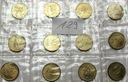 Zestaw Watykan LOT 12 x 20 Lirów MENNICZE nr 129