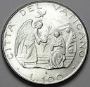 Watykan 100 Lirów 1987 Jan Paweł II