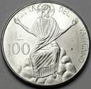 Watykan 100 Lirów 1986 Jan Paweł II