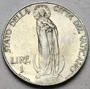 Watykan 1 Lir Lire 1939