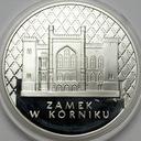 20 zł złotych 1998 Zamek w Kórniku