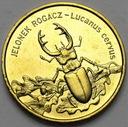 2 zł, złote 1997 Jelonek Rogacz PIĘKNA POŁYSK