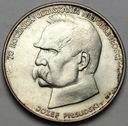 50000 zł złotych 1988 JÓZEF PIŁSUDSKI SREBRO