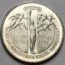 2 złote 1995, 100 lat igrzysk Ateny Atlanta ŁADNA