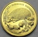 2 zł, złote 1996 Jeż Jeże PIĘKNA POŁYSK POLECAMY