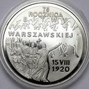 20 zł złotych 1995 Bitwa Warszawska 75 rocznica